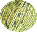 473.93 grün mit Lurex hellgrün