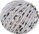 473.96 grau mit Lurex silber