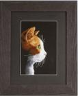 Stickbild Katze