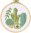 Stickbild Exotic Kaktus