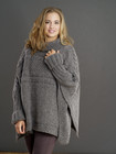 M-1701/06 Poncho-Pullover Damen