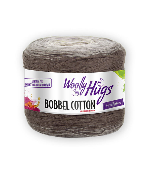 Bobbel Cotton Woolly Hugs Jakob Wolle